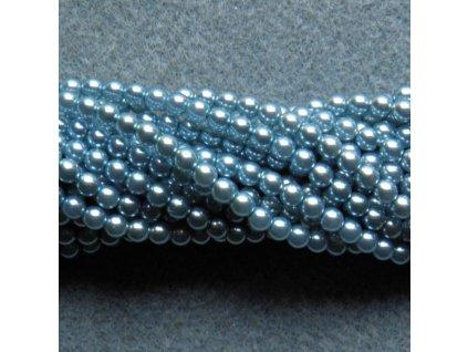 Korálky - voskované perle (70437) 5 mm