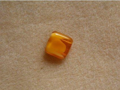 Korálky mačkané - čtverečky dvoudírové - 06108 (MKL50/7)