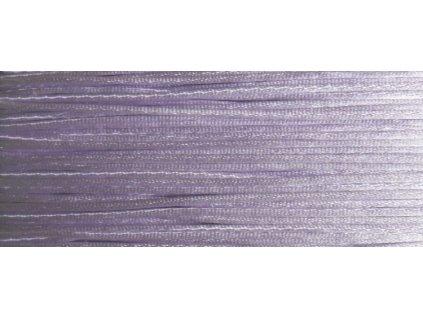 Šňůrka saténová světlá fialová 2 mm