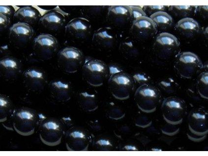 Korálky - voskované perle (70449) 8 mm
