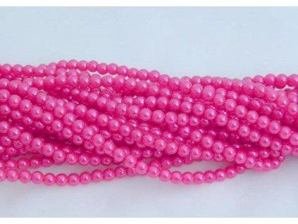 Korálky - voskované perle (12955) 8 mm