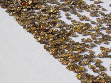 Korálky mačkané - Rose Petals 00030/27103