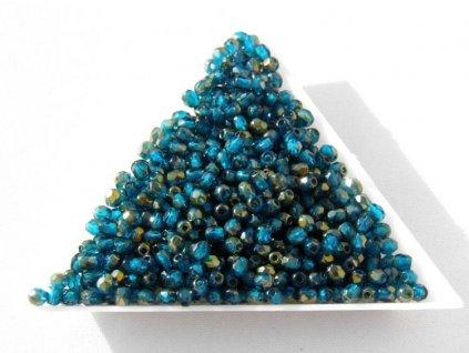 Korálky broušené - ohňovka 3 mm 60080/23601