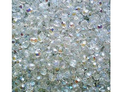 Korálky broušené - ohňovka 4 mm 00030/28701