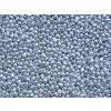 Korálky mačkané - kapka 4/6 mm - 00030/27000 metalická stříbrná