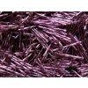 Korálky - rokajlové tyčky 20 mm - tmavě fialové 27060 (T65)
