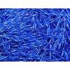 Korálky - rokajlové tyčky 30 mm - modré točené 37050 (T16)