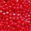 Korálky mačkané - BW77 - kulička 9 mm - 93210 červená tvarovaná