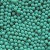 Korálky mačkané - kulička 5 mm - 63130 tyrkysová - 20 ks