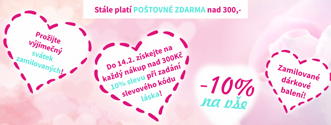 Prožijte výjimečný svátek zamilovaných 14.2.!