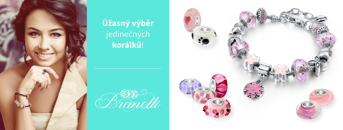 Jedinečné korálky Branelli - Buďte výjimečná!