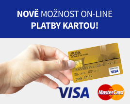 Přijímáme platby kartou!