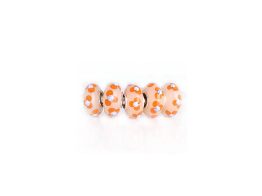 "Skleněný korálek ""Rozkvetlé meruňky"" | Korálky Branelli"