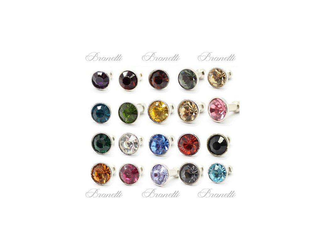 Ozdoba na mobil - barevný kamínek