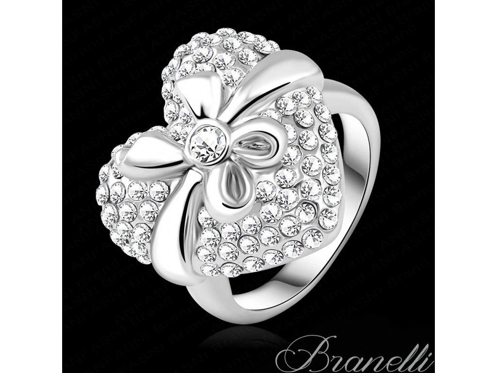 Prsten Srdce s mašlí S
