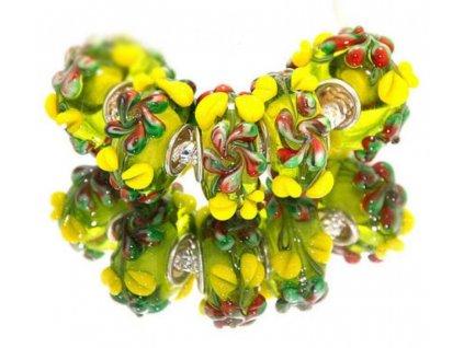 "Skleněný korálek ""Chuť léta"" | Korálky Branelli"