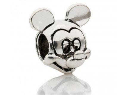 "Kovový korálek ""Myšák Mickey Mouse""   Korálky Branelli"