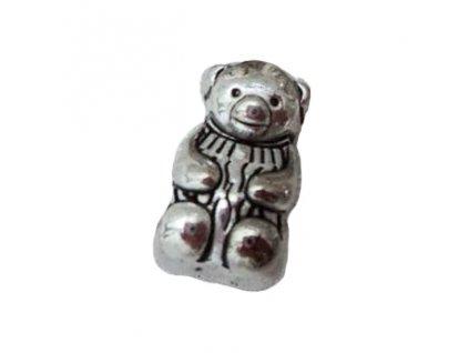 "Kovový korálek ""Medvídek"" | Korálky Branelli"