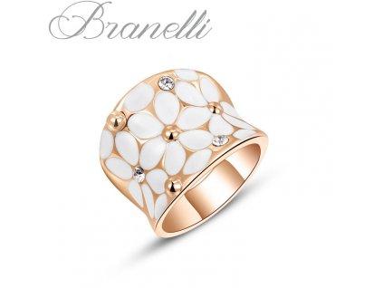 Prsten Bílé květiny Z