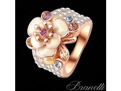 Prsten Krémová květina Z