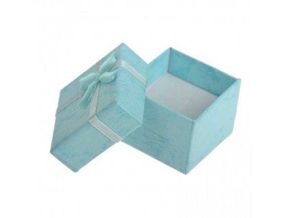 Nebesky modrá dárková krabička | Korálky Branelli