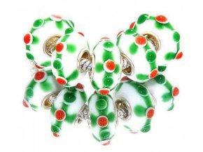 "Skleněný korálek ""Sladké jahody"" | Korálky Branelli"