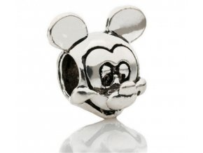 "Kovový korálek ""Myšák Mickey Mouse"" | Korálky Branelli"