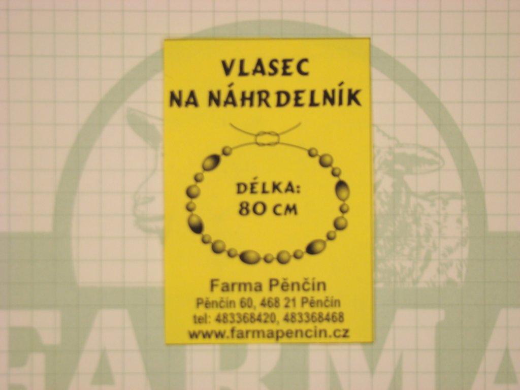 Vlasec na náhrdelník
