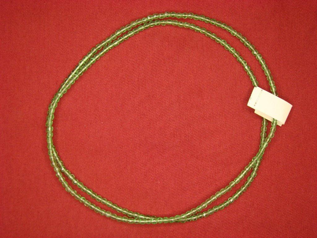 Náhrdelník zelený