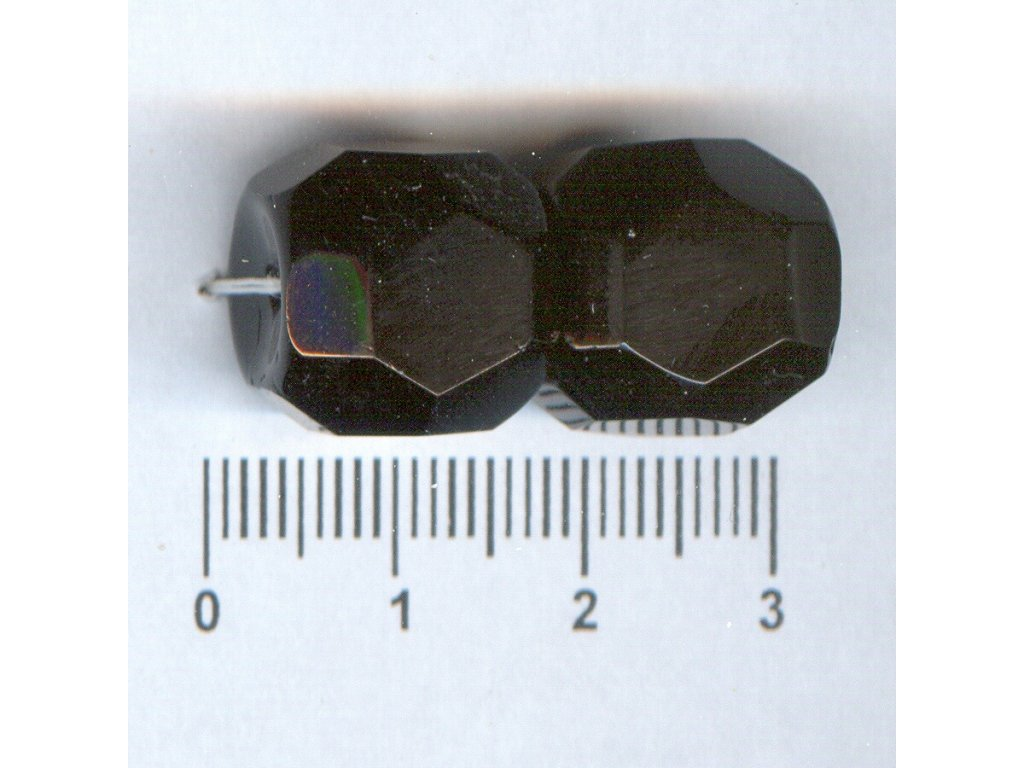 Broušené korále tvarové 15x18 23980
