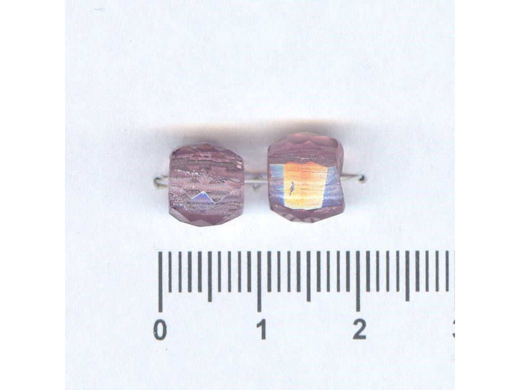 Broušené korále tvarové 10x10 20030