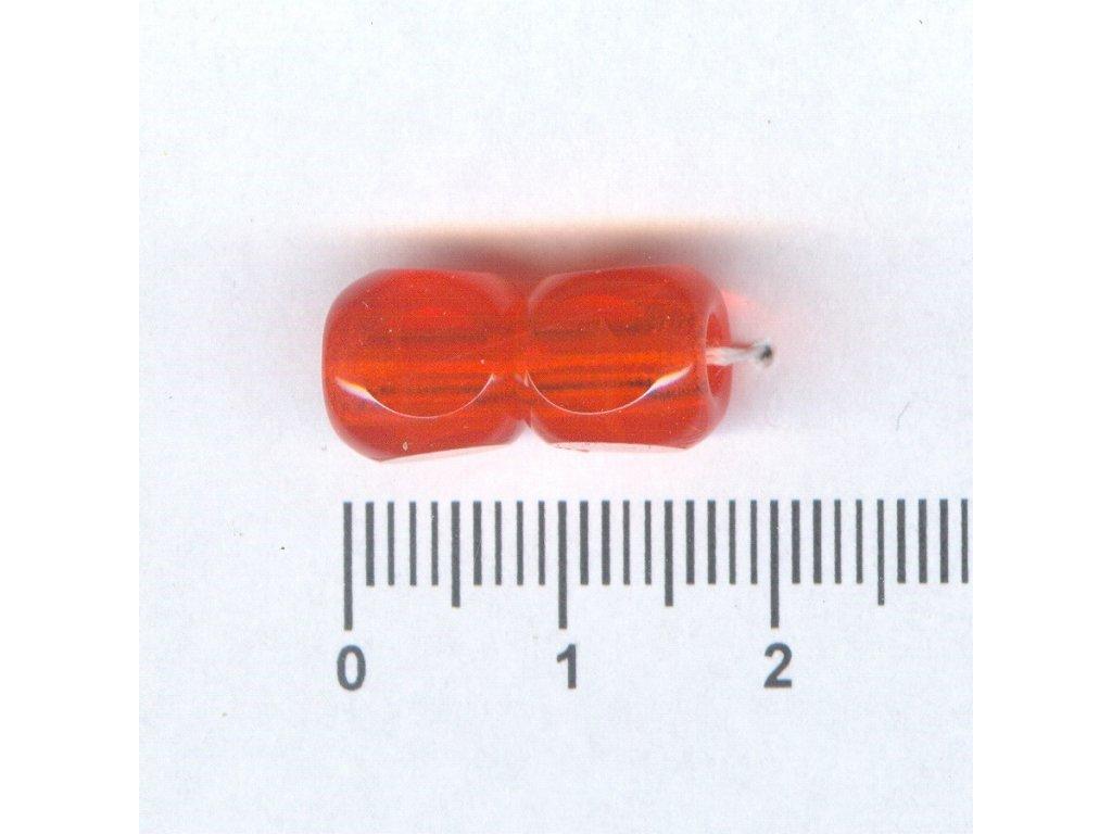 Broušené korále tvarové 10x10 90020