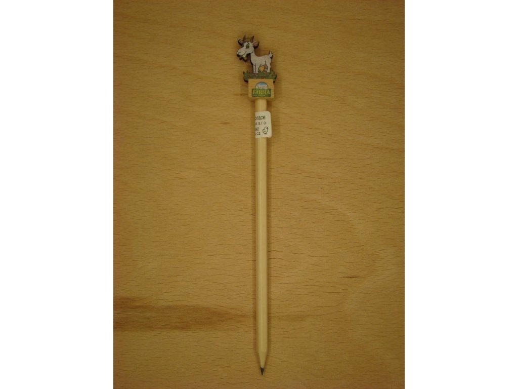 Dřevěná tužka - KOZA