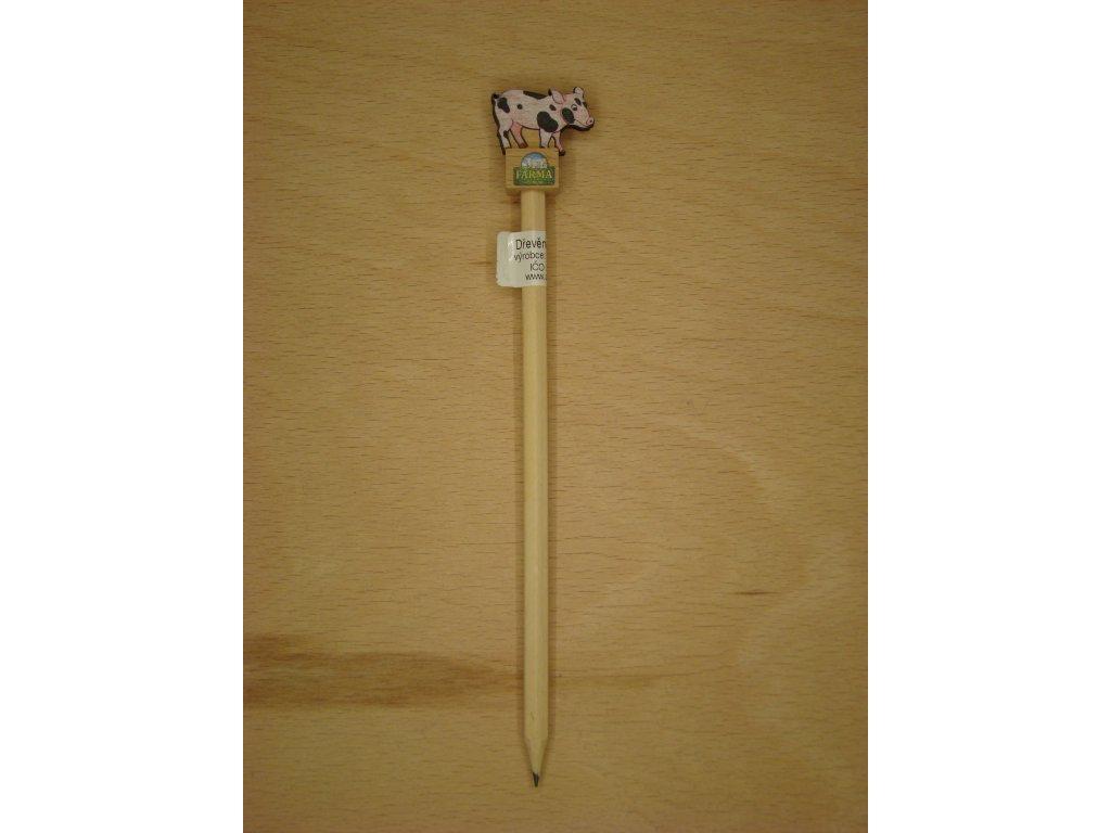 Dřevěná tužka - PRASE