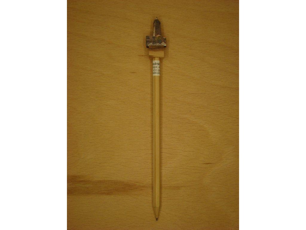 Dřevěná tužka - ROZHLEDNA
