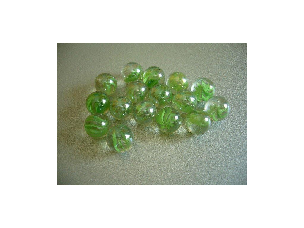 Cvrnkací kuličky 10 ks - vzor 21