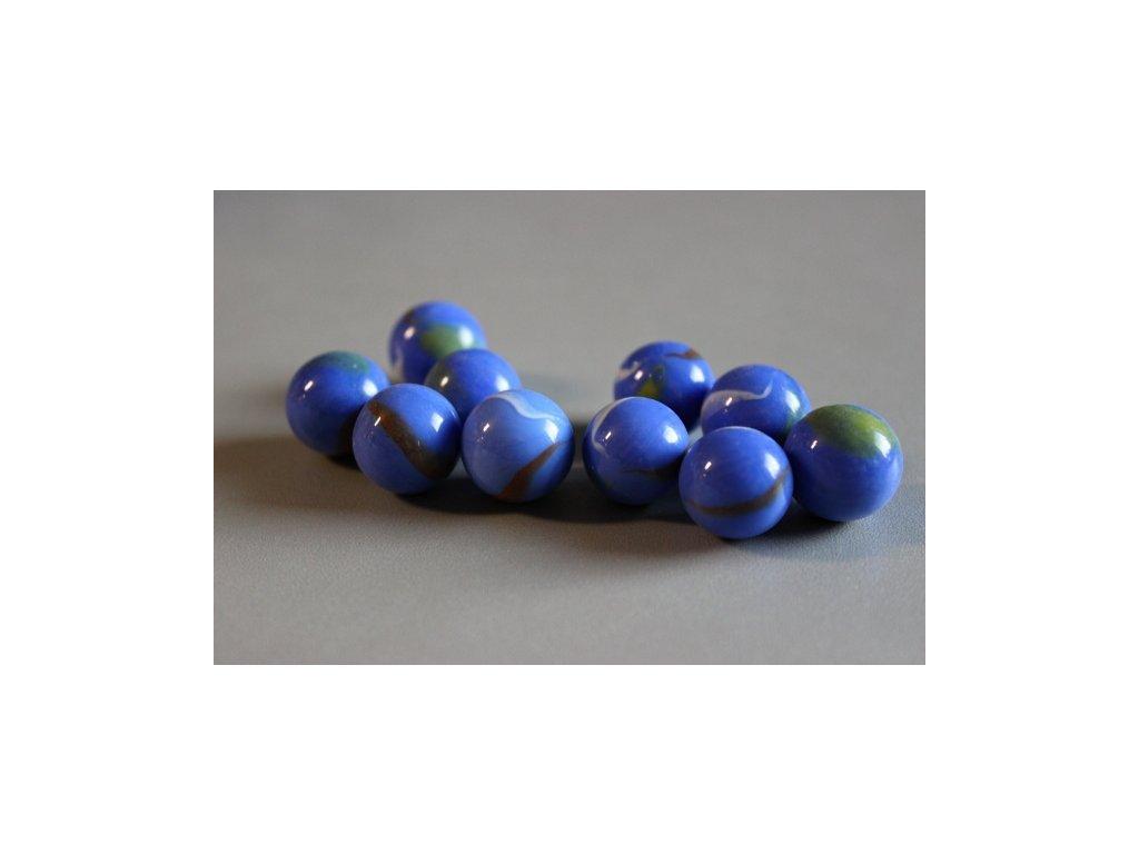 Cvrnkací kuličky 10 ks - vzor 26