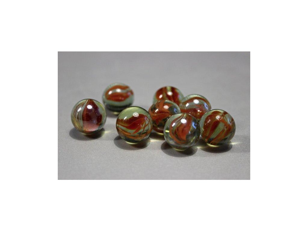 Cvrnkací kuličky 10 ks - vzor 30