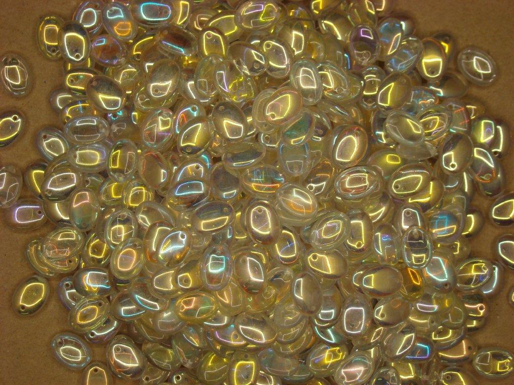 Mačkané korále tvarové 12x09 00030/28701