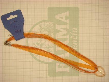 Srdíčko oranžovo-oranžové lesk