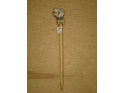 Dřevěná tužka - OVEČKA