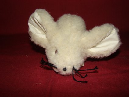 Myš Gertruda - bílá