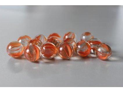Cvrnkací kuličky 10 ks - vzor 20