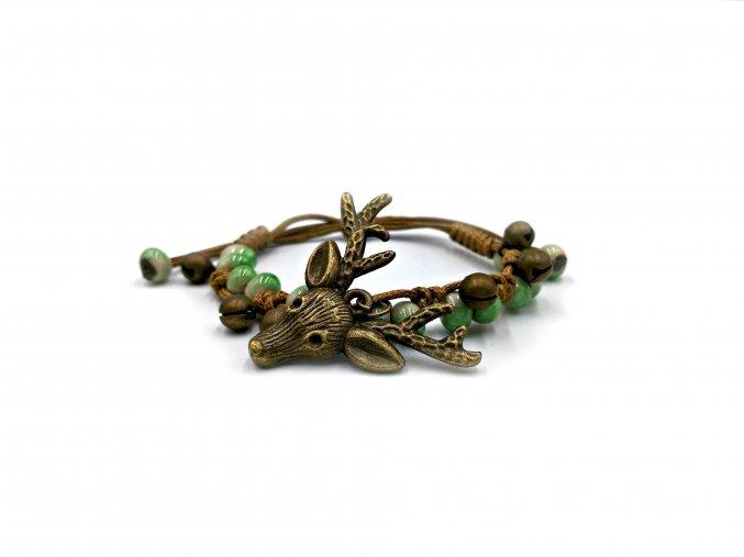 Deer Green náramek