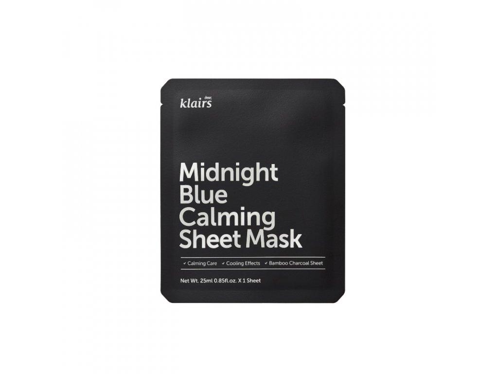 Midnight Blue Calming Sheet Mask
