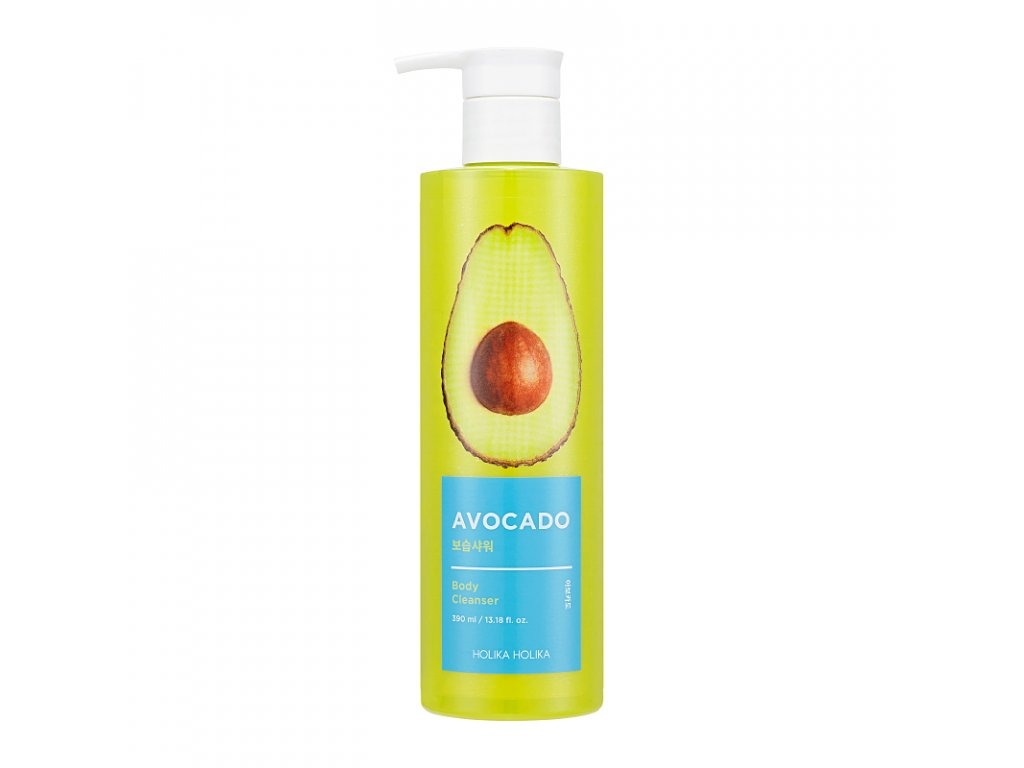 avocado body cleanser