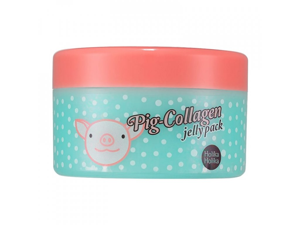 nochnaya maska pig collagen jelly pack