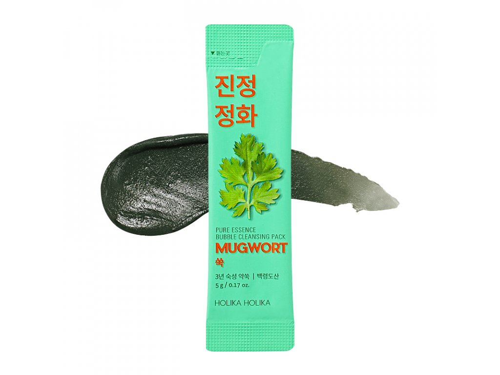pure essence mugwort bubble cleansing pack