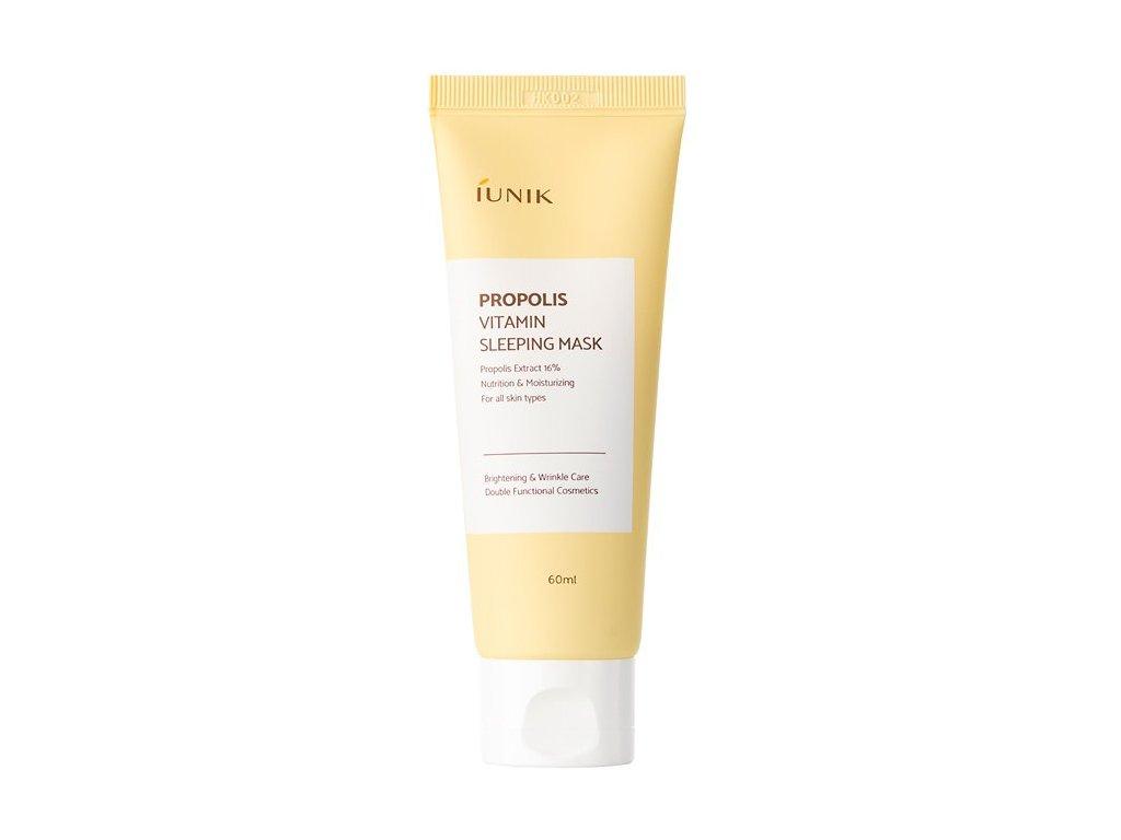 cze pl iUNIK Propolis Vitamin Sleeping Mask Nocni Hydratacni Maska s Propolisem 60ml 1611 1