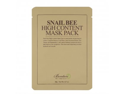 Benton Snail Bee High Content Mask Pack 1